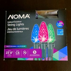 New in package indoor/outdoor led string lights